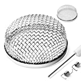 SnowyFox 2 Pack Flying Insect Screens - RV Furnace Vent Cover Screens Keep Pests Out - Sta...