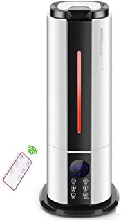 Liudan Whole House Humidifiers Floor-Standing Air humidifier Whisper-Quiet Operation, Automatic Shut-Off and Night Light Function,for Home Bedroom and Office Aroma humidifier