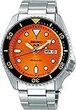 Seiko Analog Orange Dial Men's Watch-SRPD59K1