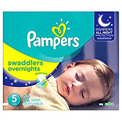small Pampers Swaddler size 5