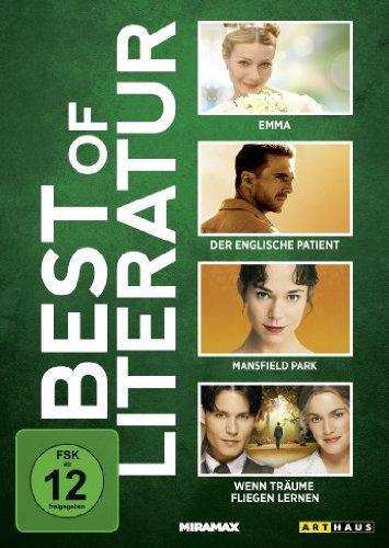 Best of Literatur: Emma / Der englische Patient / Mansfield Park / u.a. [4 DVDs]