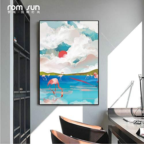 Geen lijst mandala ng, landschap canvas HD olie, drukwoning, bedrijf behang