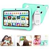 Tablette Enfant 7pouces ,IPS Android 10.0 Certifié par Google GMS , Tablette pour Enfant 3Go RAM +32Go ROM/128 Go Extensible Quad...