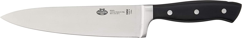 Limited time sale BALLARINI Brenta Chef's 8-inch Mesa Mall Black Knife