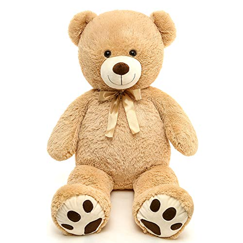 MaoGoLan Giant Teddy Bear Soft Big Teddy Bear Stuffed Animals Plush Christmas for Girlfriend Kids,39 inch Tan