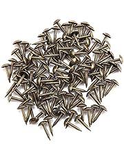 100st antieke bekleding nagels, decoratieve meubels kopspijkers set duimkopspijkers push pins voor hout DIY(6 * 12MM)
