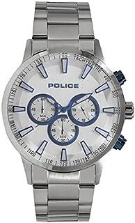 [ポリス]POLICE メンズ クロノグラフ ブラック文字盤 シルバー ステンレス PL15000JS-04M 腕時計 [並行輸入品]
