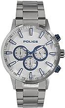 [ポリス]POLICE メンズ クロノグラフ シルバー ステンレス PL15000JS-04M 腕時計 [並行輸入品]