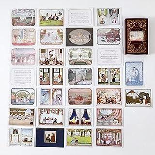 Vimax - Assorted Stickers - Fairy & Elf Matchbox Diary Stickers Retro Stamps Scrapbooking Korean Sticker Label 60pcs/box (1)
