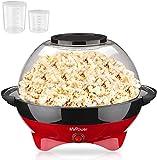 MVPower Popcornmaschine, 800W Popcorn Maker, Popcornmaschine für Zuhause, Popcorn Maschinen,...