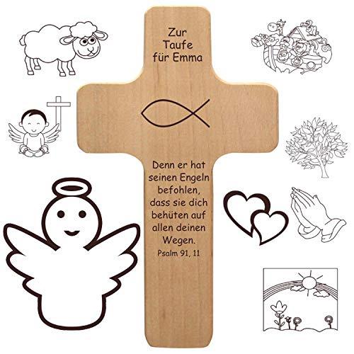 Geschenkissimo mit individueller Gravur als Taufgeschenk Bild