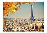 EACHHAHA Puzzle 1000 Piezas,Torre Eiffel Puzzles para Adultos, Puzzle París,70x50CM,Rompecabezas de Piso Juego de Rompecabezas y Juego Familiar