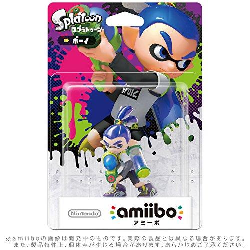 Inkling Boy amiibo - Japan Import (Splatoon Series)