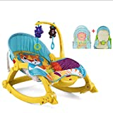 Rocking Chair électrique Pliable Nouveau-né Balancelle PP Plastique Ceinture Toy...