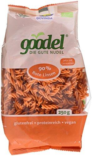 Govinda goodel rote Linsen Nudeln (1 x 250 g)
