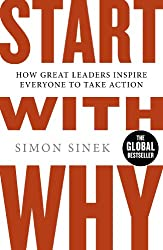 Cover of Start With Why by Simon Sinek