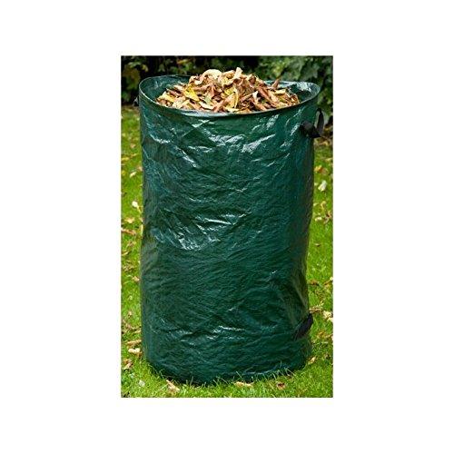 MKL-Versand Gartenlaubsack Laubsack Gartensack Abfallsack 120 Liter grün
