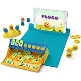 Shifu Plugo STEM Pack - Count, Letters & Link | Math, Word Building, Magnetic Blocks, Puzzles & Games | Ages 5-10 Years Interactive Toy | Educational Gift Boys & Girls (App Based)