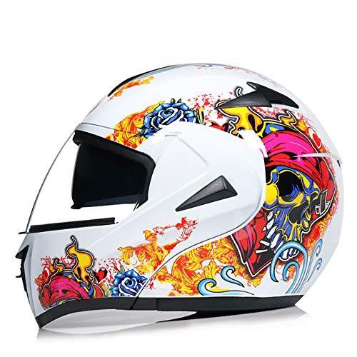 Bruce Dillon Motociclo elettrico Bluetooth casco maschio mezzo casco doppio obiettivo casco completo corsa casco in fibra di carbonio modello stradacasco motocross airoh