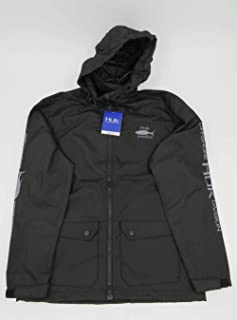 HUK Breaker Offshore Shell Jacket, Color: Black (H4000057-001)