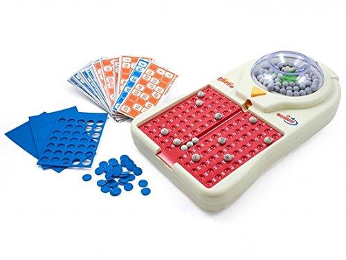 Bingo eléctrico Juego de Bingo Elecronic Con Play Cards Máquina de Bingo...