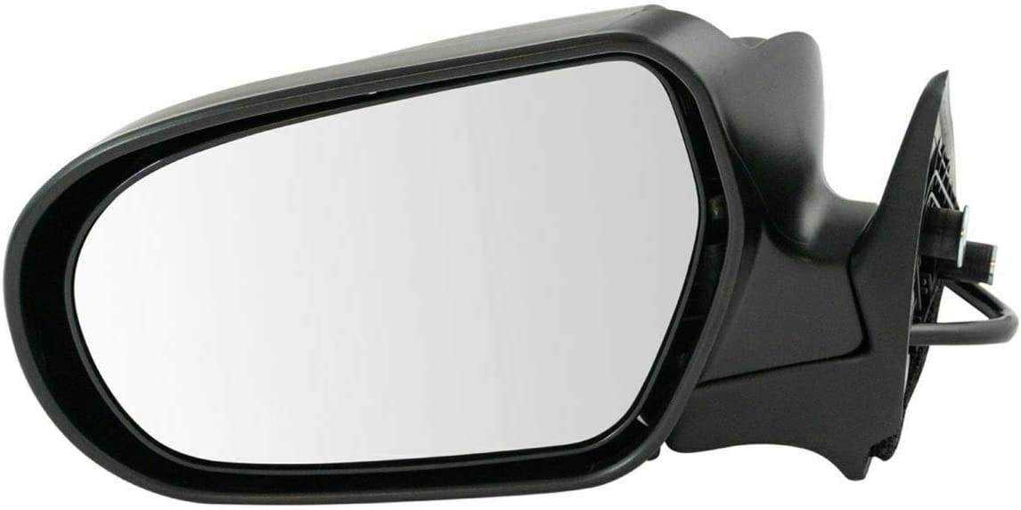 Power Superlatite Mirror Smooth New product!! Black Driver Side Left Compatible with 05 LH
