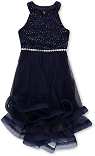 Speechless Girls' Party Dramatic High-Low Hemline Dress
