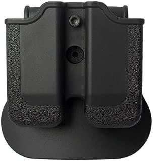 IMI-Defense Tactical Double Magazine Mag Pouch CZ Walther P88 P99 PPQ M1 M2 COLT Pistol Handgun