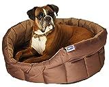 Lifemax Cama Ovalada, pequeña y Muy Resistente para Perros
