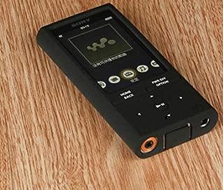 FidgetGear ソニーウォークマンNW-ZX100用ソフトシリコンケース ブラック