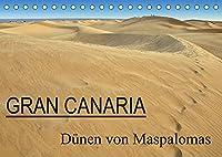 GRAN CANARIA/Duenen von Maspalomas (Tischkalender 2022 DIN A5 quer): Fotos der Duenen von Maspalomas (Monatskalender, 14 Seiten )