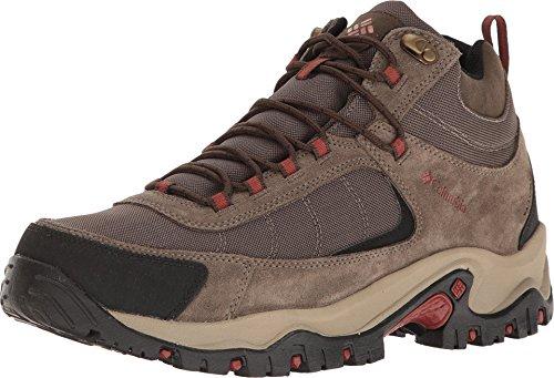 Columbia Men's Granite Ridge MID Waterproof Hiking Shoe, Mud, Rusty, 11 D US