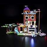 BRIKSMAX Kit de Iluminación Led para Lego Friends Casa de la Amistad, Compatible con Ladrillos de Construcción Lego Modelo 41340, Juego de Legos no Incluido