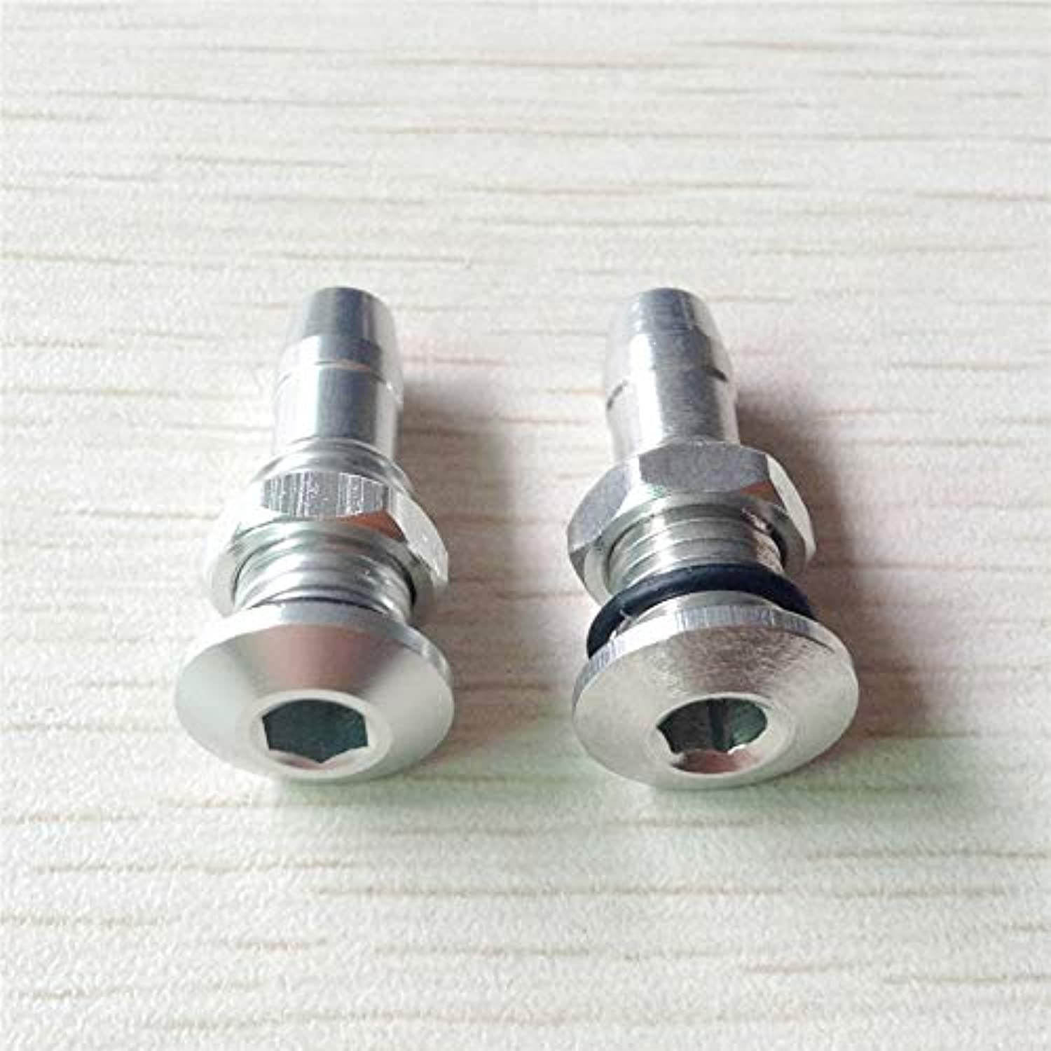 5PCS Lot M6 M8 Water Outlet Mouth Nozzle Seat for Water Cooling System Water Nipple Aluminum Alloy Drainage for RC Boat   M6