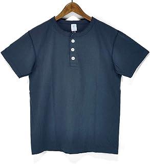 ベルバシーン(VELVA SHEEN)161007 ヘンリーネックTシャツ 無地TEE S/STEE 半袖Tシャツ