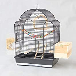 ANJJ Bird cage, starling cage large metal peony cocoon breeding cage
