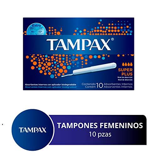 Absorventes Internos Tampax Super Plus, 10 Unidades