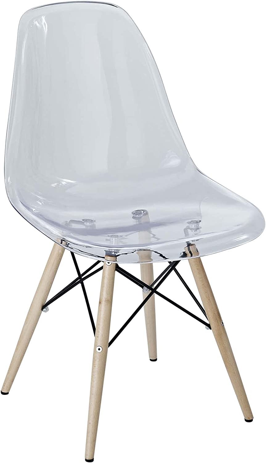 Modway Pyramid New product!! Mid-Century Modern Kitchen and free shipping Dining Room Chair