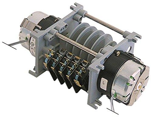 CDC 4905DV Timer für Spülmaschine Comenda LF320LA, LF320A, LF323A, LF323, LF350A Laufzeit 4/150s 230V 5 Kammer(n) 2 230V