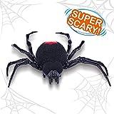 ROBO ALIVE 7111 Crawling Spider Batterie-Roboterspielzeug, Schwarz, Einheitsgröße