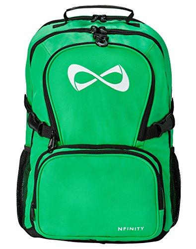 Kelly Green Classic Backpack - White Logo