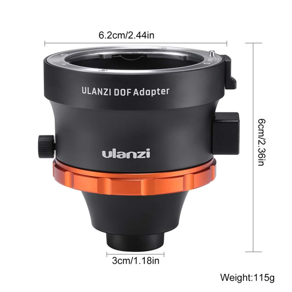 Linghuang ULANZI DOF - Adaptador para Objetivo de cámara con ...