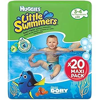 Ba/ñadores desechables 20 unidades 3-8 kg Huggies Little Swimmers Talla 2-3