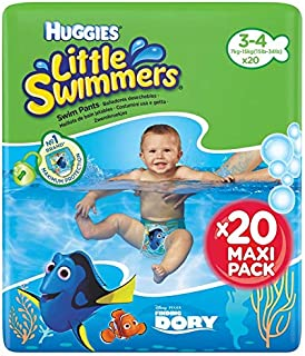 Huggies Little Swimmers Pañal Bañador Desechable Talla 3-4