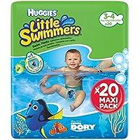Huggies Little Swimmers Pañal Bañador Desechable Talla 3-4 (7-15 Kg) - 20 unidades