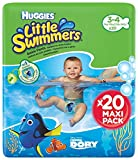 Huggies Little Swimmers Pañal Bañador Desechable Talla 3-4 (7-15 Kg) - 20...