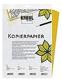 Kreul 90644 - Javana Kopierpapier zum Übertragen von Motiven auf dunkle Untergrüne, 3 Bogen gelb,...