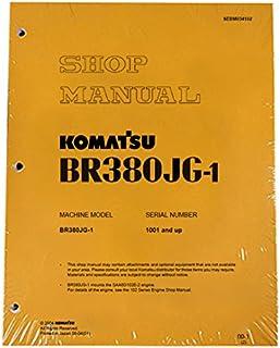 Komatsu BR380JG-1 Mobile Crusher Mobile Crusher Workshop Repair Service Manual - Part Number # SEBD034102
