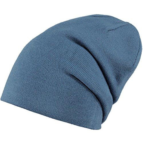 Barts Eclipse Beanie Cache-Oreilles, Bleu (Old Blue), Fabricant: Taille Unique Mixte