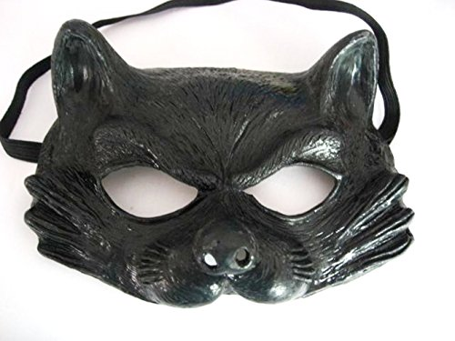AEC - MAHAL665 - Demi-masque latex adulte chat catty